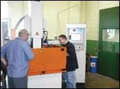 CNC Ram EDM 24-position electrode changer