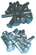 Cold-formed titanium rivets
