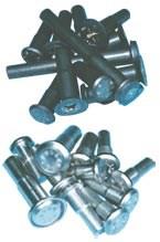 Cold-formed titanium rivets