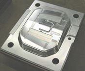 Automotive side marker lens mold