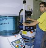 Jason Dekorte using the Haimer Power Clamp shrink-fit machine