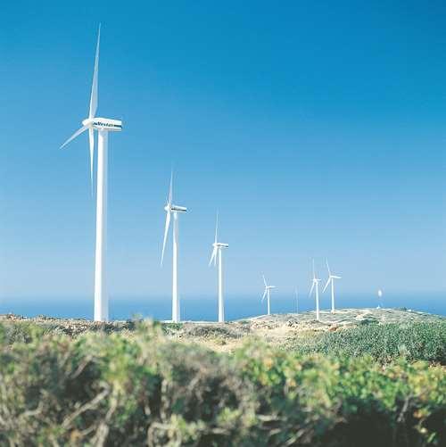 Crete wind farm