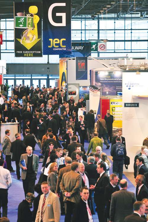 JEC 2009 crowd shot
