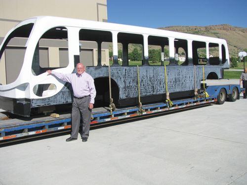 Step 6 EcoRide Bus Body