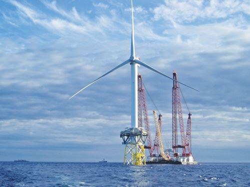 REpower Beatrice 5-MW turibne