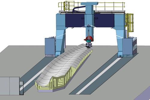 MTorres gantry-based blade production concept
