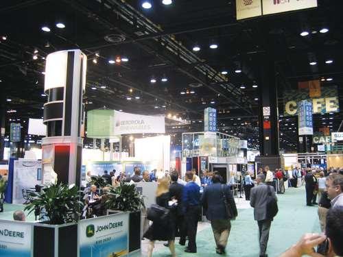 Windpower 2009 show floor