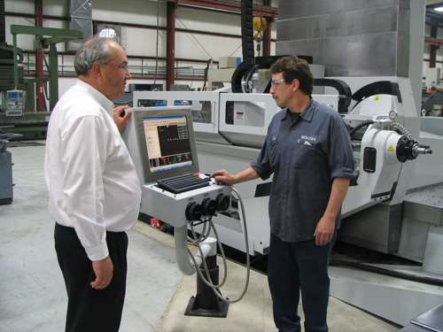 Six-axis gundrilling machine at Roush Manufacturing
