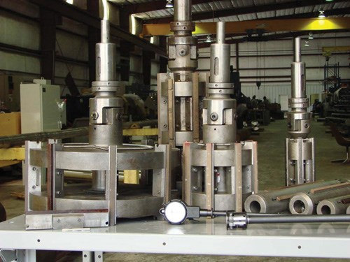 Special tooling for honing machines