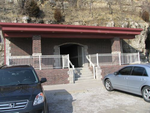 Main entrance Brunson Instrument Co.