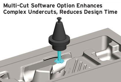 SURFCAM 3 axis multi cut