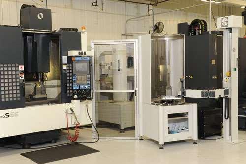 Makino Erowa ERS robotic system