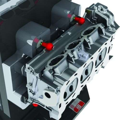 spring-loaded retention pins