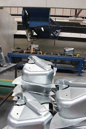 QFS's prototype sheet metal parts