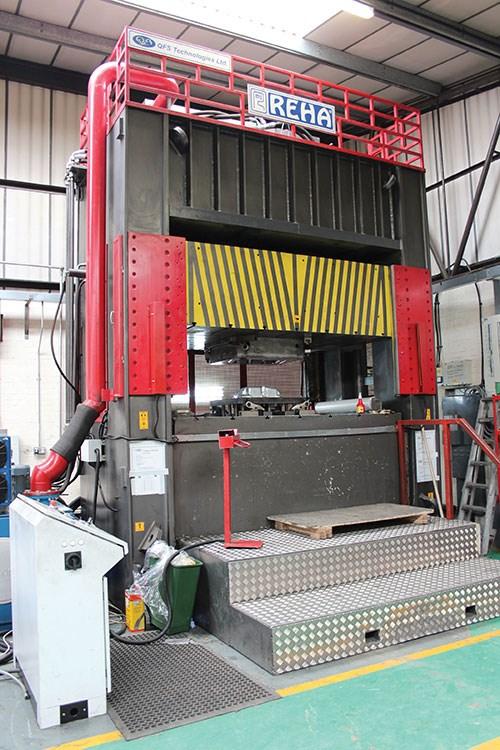 250-ton die press