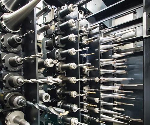 high capacity tool changers