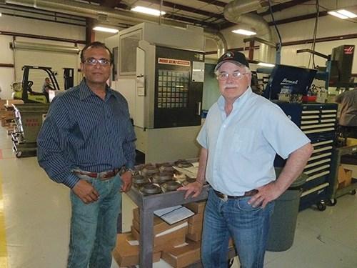 Nick Patel and Bruce Roberge
