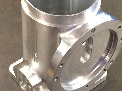 A CNC-machined part from KPI