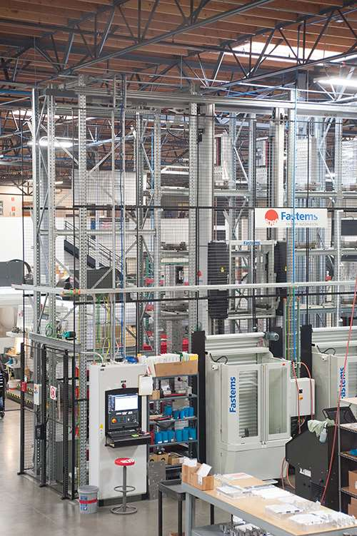 high racks of pallet system