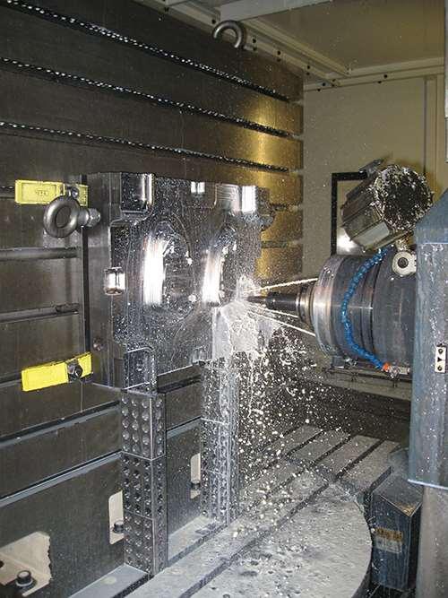 Makino machine at C.S. Tool Engineering