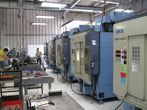 OKK machines at Erdman Machine