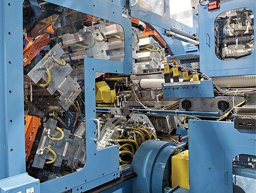 Nueva rueda mecánica de la serie Max de R & B Plastics Machinery