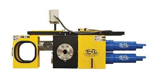Los cambiadores de mallas continuos que no utilizan sello mecánico utilizan piezas  mecanizadas de forma precisa para efectuar un sello de polímero.