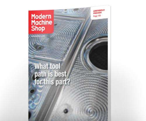 Modern Machine Shop cover story for June 2016