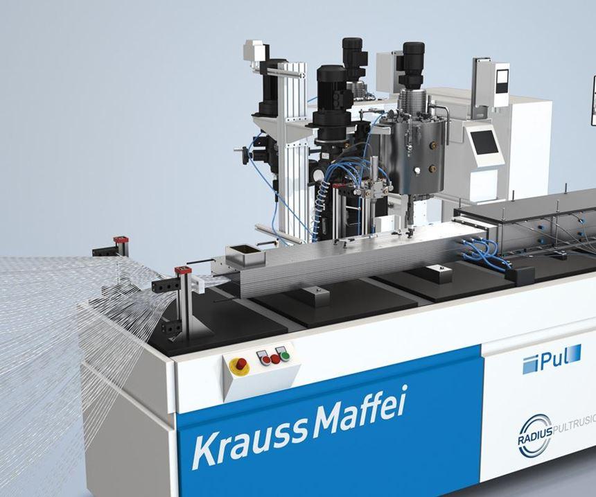 KraussMaffei's iPul machine