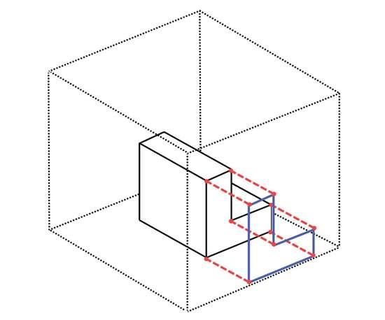 3D object in box