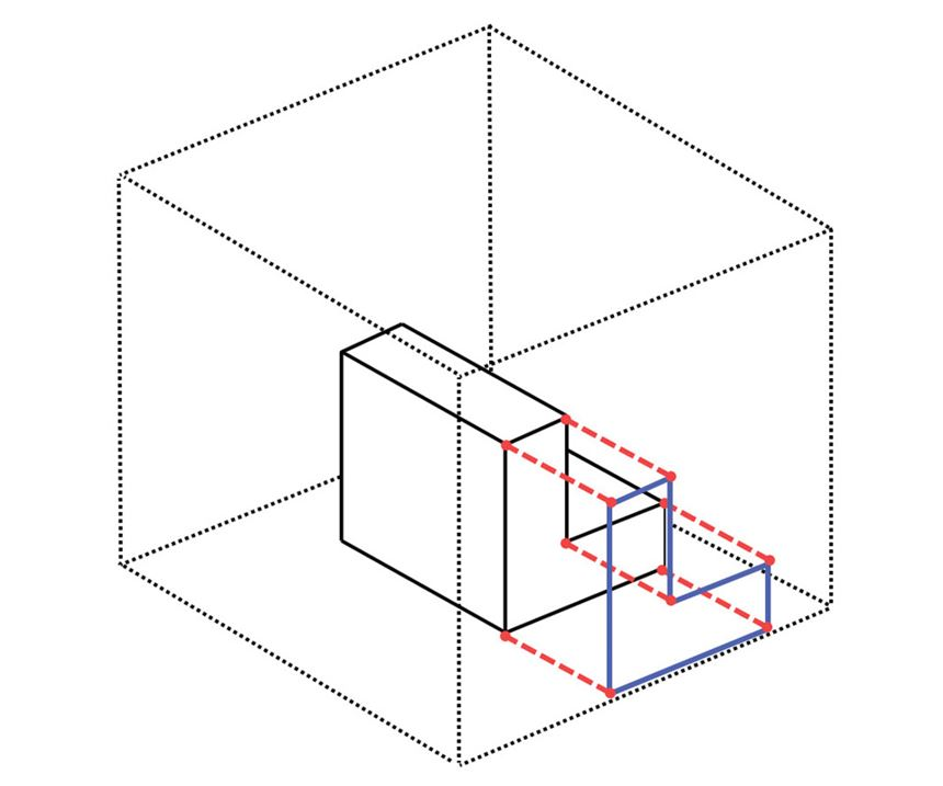 3D object in box