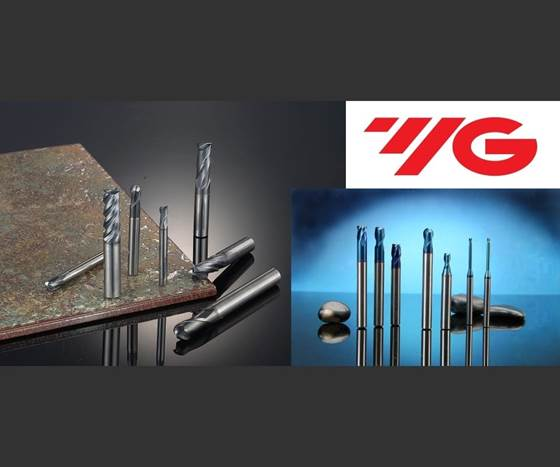 YG-1 Tool 4G and X5070 end mills