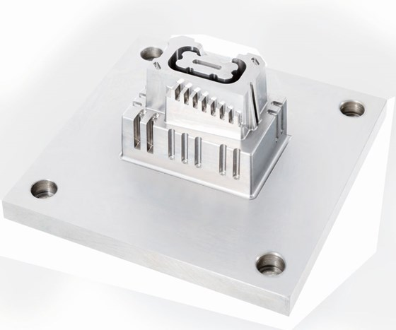 electric vehicle connector mold
