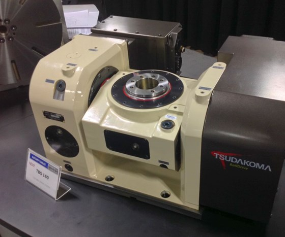 TBS 160 four/five-axis rotary table