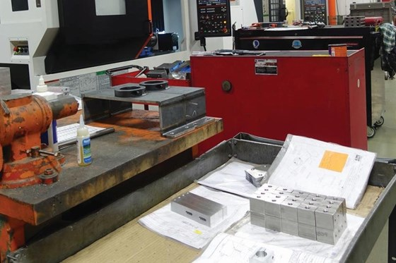 Engineered Fabrication machine shop