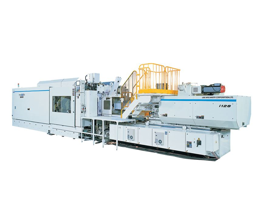 all-electric injection molding machine TPO bumper