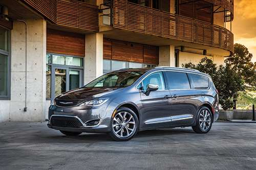 The sixth-generation Chrysler Pacifica.  The vehicle is all-new, from the platform up.