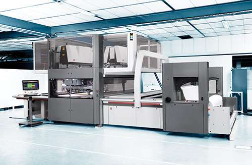 The Lectra Focus Quantum laser cutting system for airbag production.