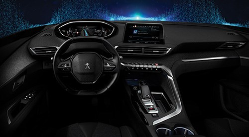 The i-Cockpit, gen 2, in the Peugeot 208, 2008 and 308 models.