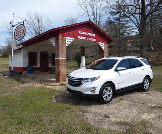 """The Chevy tagline is  """"Find New Roads."""" The company thinks that the 2018 Equinox will have families finding roads  in places from northern South Carolina to 115  other markets."""