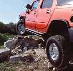 Hummer H2 off road