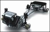 The hybrid drivetrain