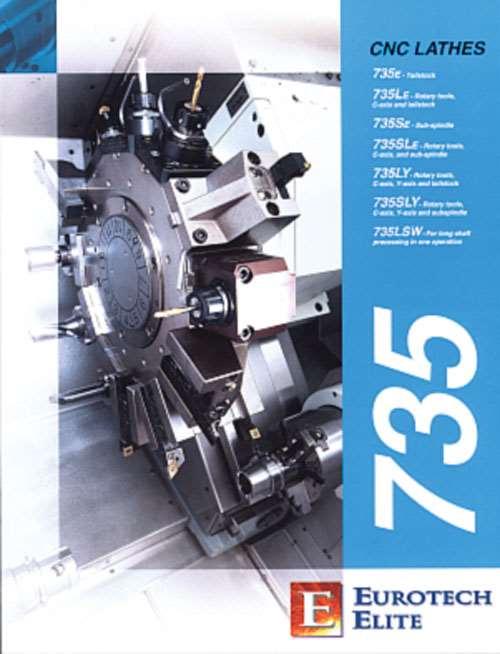 CNC Lathes brochure