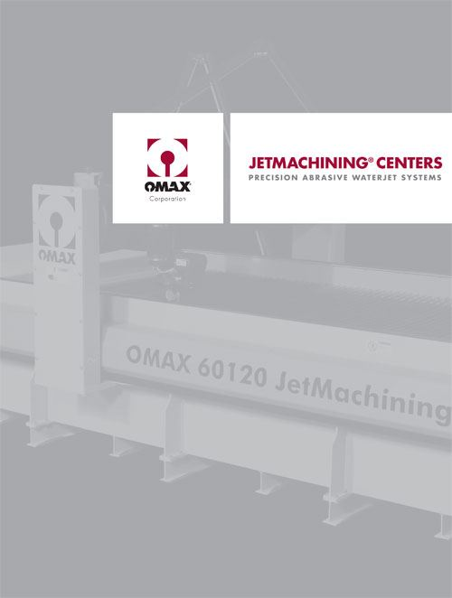 Omax Jetmachining centers