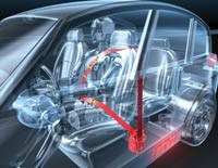 TRW's active safety system will use GPS mapping data to warn the driver of changes in road conditions that could result in a potential crash.