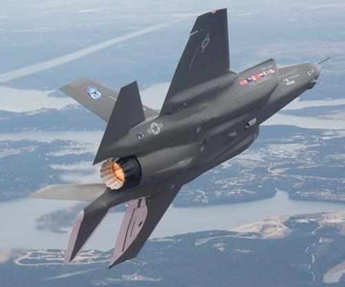 F-35 hot zone
