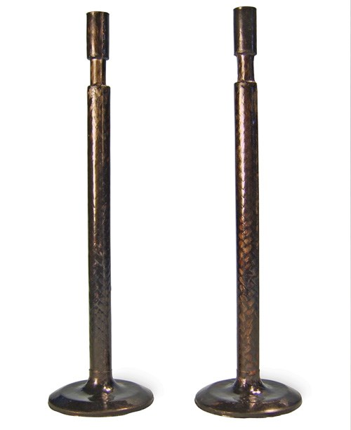 Two CFRP valves