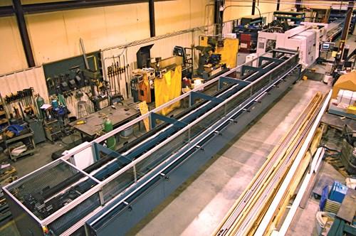 40-foot bar loader