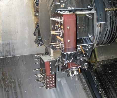 Turning center turret accessories
