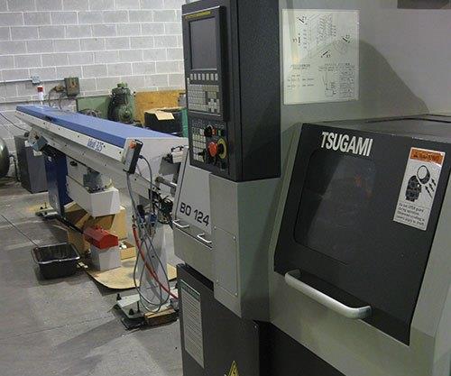 CNC Swiss-type lathe